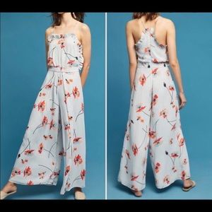 Paper Crown White Water Floral Jumpsuit 8